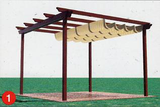 Toldatek exclusiva venta de toldos pergolas de madera y lonas para piscinas - Carpas y pergolas ...